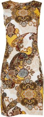 Wallis Ochre Paisley Print Shift Dress