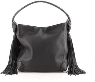 Christian Louboutin Eloise Fringe Hobo Leather Medium
