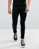 Hugo By Hugo Boss Hugo 131 Skinny Jeans Stretch Supercool Black
