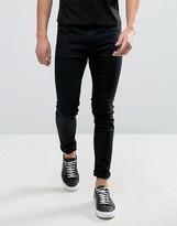HUGO BOSS HUGO by Hugo 131 Skinny Jeans Stretch Supercool Black