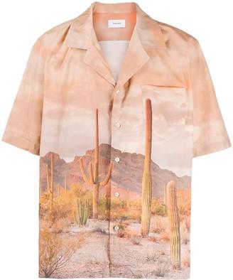 Rhude Cactus-Print Shirt