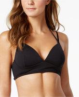 MICHAEL Michael Kors Double-Strap Halter Bikini Top