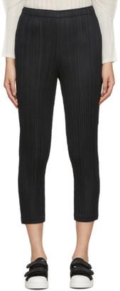 Pleats Please Issey Miyake Black Pleats Trousers