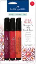Faber-Castell Mix and Match Stamper's Big Brush Pens - 3-pack Red