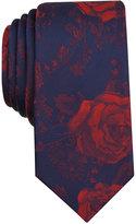 Bar III Men's Halton Floral Slim Tie, Only at Macy's