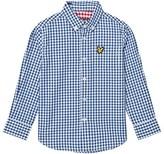 Lyle & Scott True Blue Gingham Shirt