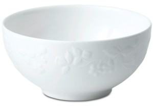 Wedgwood Wild Strawberry White Soup/Cereal Bowl