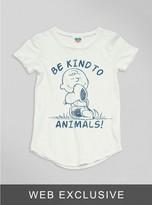 Junk Food Clothing Kids Girls Be Kind To Animals Tee-sugar-l