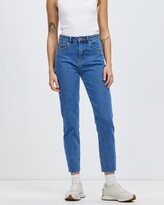 Thumbnail for your product : Neuw Women's Blue High-Waisted - Lola Mom Jeans - Size 26 at The Iconic