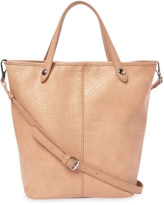 Urban Originals Songbird Pebbled Faux Leather Convertible Tote