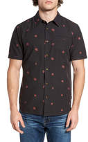 O'Neill Brees Floral Print Slim Fit Shirt