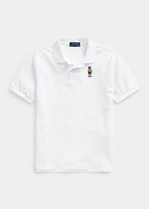 Ralph Lauren CP-93 Bear Cotton Mesh Polo
