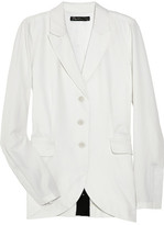 Carnaby wool-twill blazer