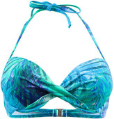 Kiwi Turquoise Balconnet Swimsuit Amazonie TURQUOISE