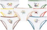 Stella McCartney Pack of 7 pairs of organic cotton knickers
