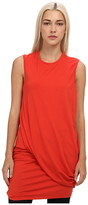 McQ by Alexander McQueen Solid Viscose Twisted Drape