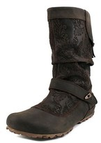Merrell Haven Pull Women Round Toe Leather Mid Calf Boot.