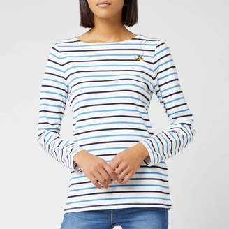 Joules Women's Harbour Embroidered Top