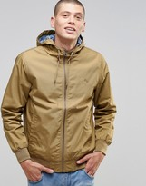 Element Dulcey Jacket In Khaki With Printed Lining