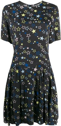 Love Moschino Star Print Midi Dress