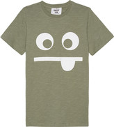 Someday Soon Funny face cotton T-shirt 4-14 years