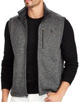 Polo Ralph Lauren Big & Tall Fleece Mockneck Sweater Vest