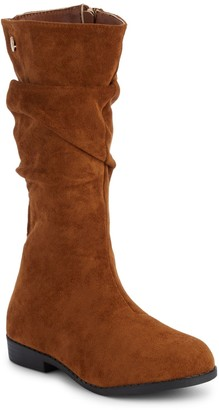 Tahari Girl's Faux Suede Tall Boots
