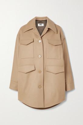 MM6 MAISON MARGIELA Oversized Wool-blend Jacket - Camel