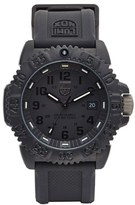Luminox Men's 'Sea - Navy Seal Colormark' Silicone Strap Watch, 43Mm