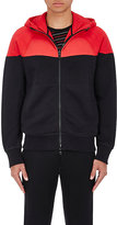 Rag & Bone Men's Precision Colorblocked Cotton Hoodie-RED