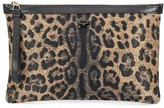 Dolce & Gabbana Leopard jacquard pouch