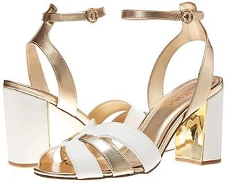 Lilly Pulitzer Alana Sandal (Resort White) Women's Shoes