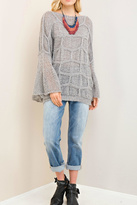 Entro Grey Soft Sweater