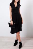 B.young V Neck Midi Dress