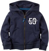 Carter's Track Hoodie (Baby) - Navy-12 Months