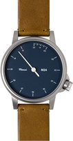 Miansai M24 Stainless Steel Watch with Leather Strap, London Tan