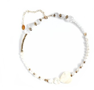 I'mmany London Kind-Hearted Mother Of Pearl Necklace