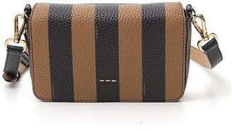 Fendi FF Jacquard Motif Flap Bag