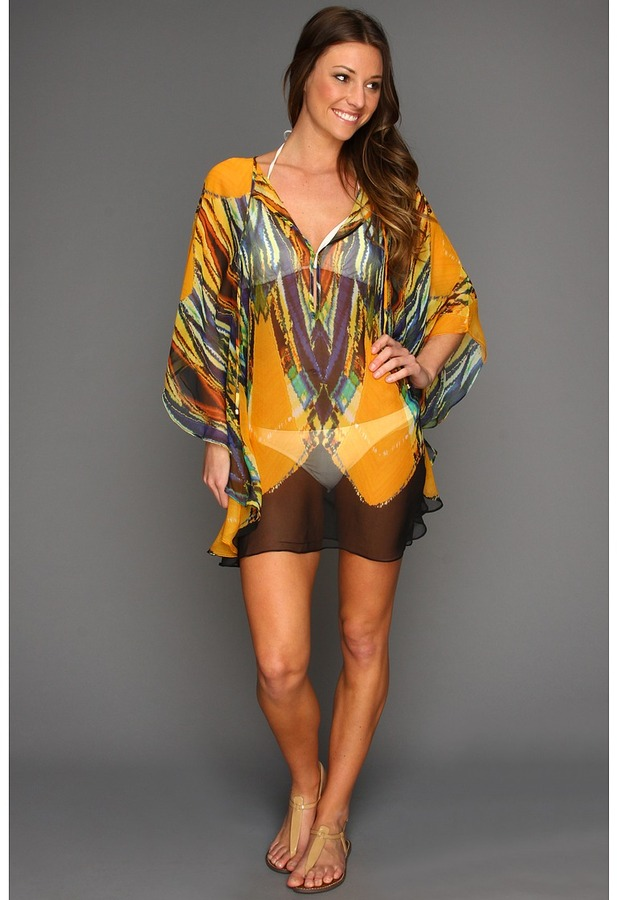 Vix Swimwear Vix - Tribal Caftan Cover Up (Multi) - Apparel