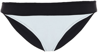 Heidi Klein Reversible Striped Mid-rise Bikini Briefs