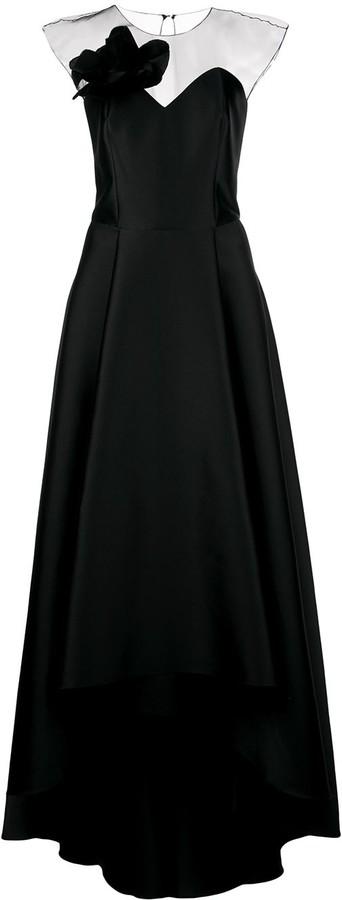 Sachin + Babi Blakely high-low gown
