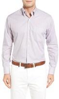 Peter Millar Men's Coastal Regular Fit Tattersall Sport Shirt