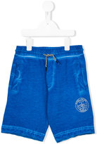 Diesel bleached seam shorts