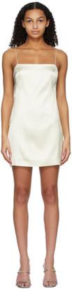 GAUGE81 Off-White Heavy Satin Bima Dress