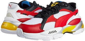 Puma Scuderia Ferrari LQDCELL Epsilon White/Rosso Corsa/Vibrant Yellow) Men's Shoes