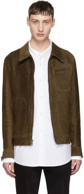 Schott Brown Suede Duke Jacket