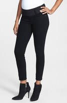 Maternal America Women's Maternity Skinny Ankle Stretch Jeans
