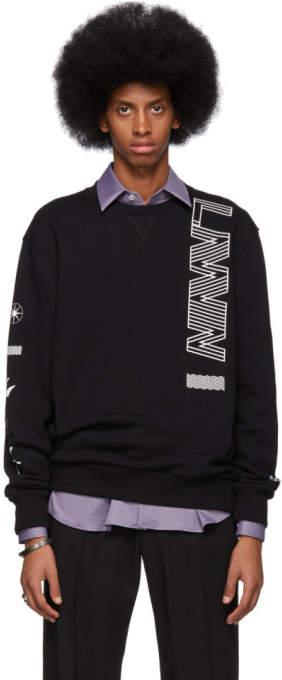 Lanvin Black Logo Sweatshirt