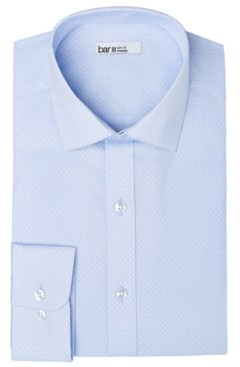 Bar III Men's Organic Cotton Slim-Fit Link-Print Dress Shirt, Gots Certified, Created for Macy's