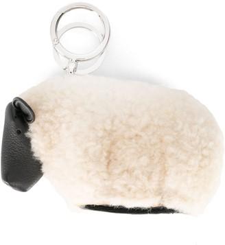 Loewe Sheep keyring charm